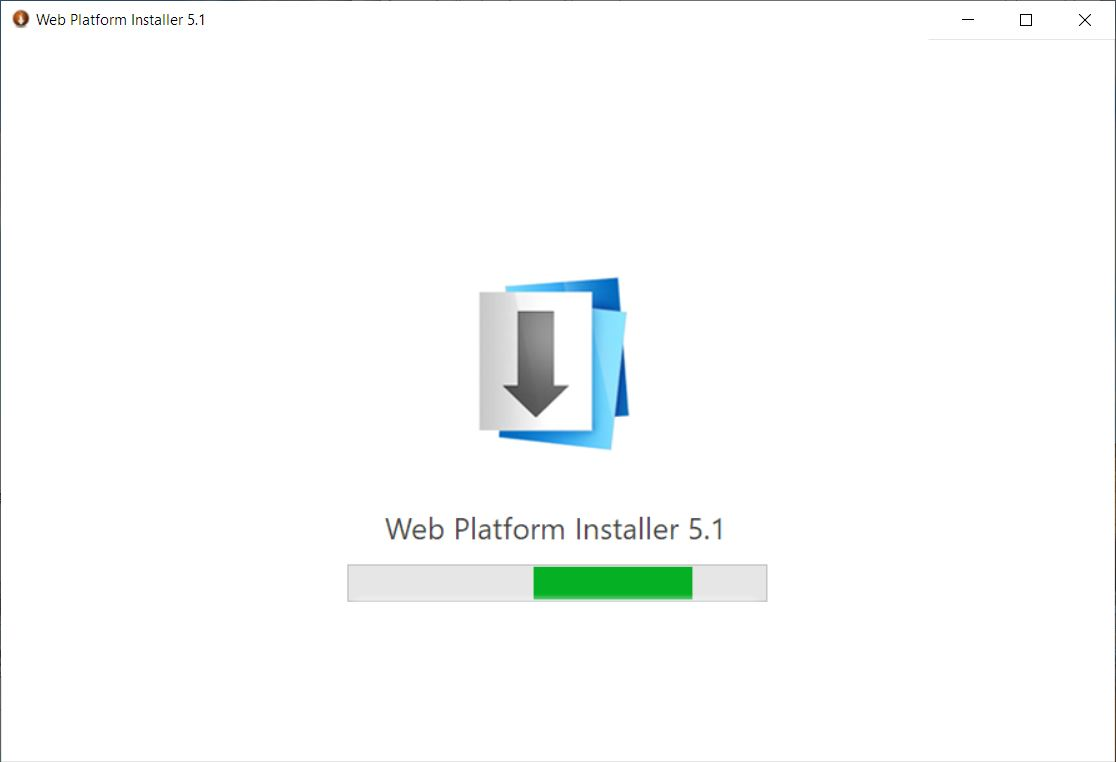 web platform installer for installing URL Rewrite in IIS
